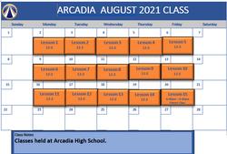 Arcadia Aug