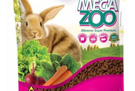 Megazoo Alimento De Conejos Ornamentales 500gr