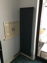 Vertical dining room radiator