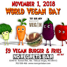 World Vegan Day - Made with PosterMyWall