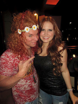 Two Favorite Red Heads Carrot Top and Nessa