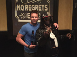 wade and Flave keeping it real with SALT Tequila