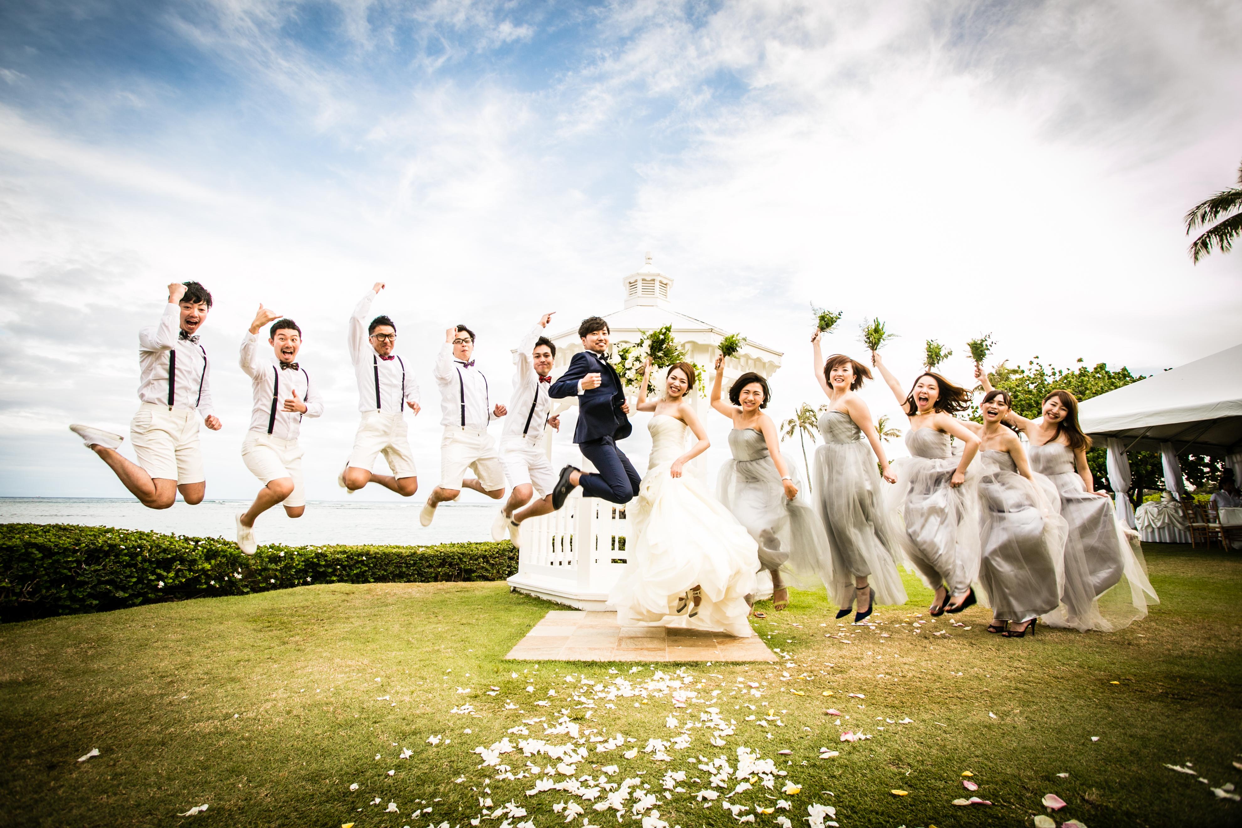 洋装・WD・結婚式・ハワイ