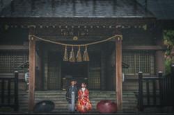 和装・色打掛・前撮り・ロケーション・神社