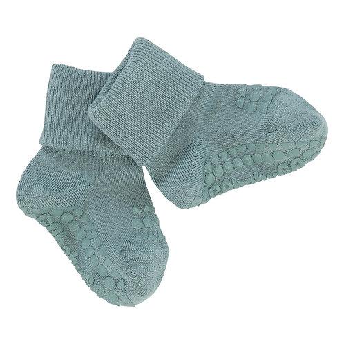 GoBabyGo - Rutschfeste Socken Bambus Dusty Blue