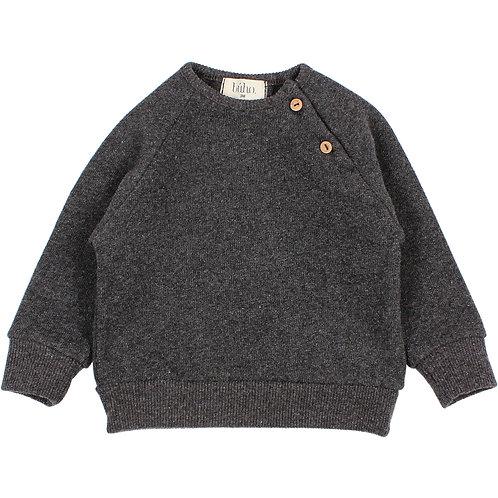 búho barcelona - Baby Soft Jersey Sweatshirt antracite