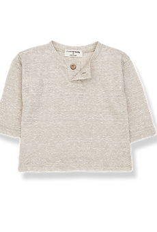 1+ in the family - miki long sleeve t-shirt beige