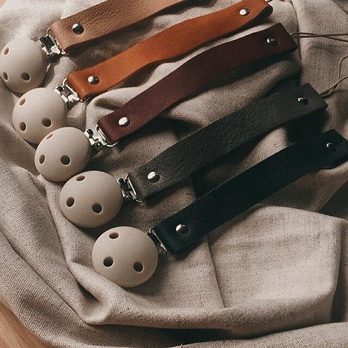 Bezisa - Nuggikette Clip Leder