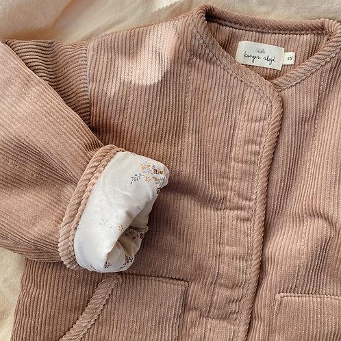 Konges Sløjd - Quilted Jacket Rose Blush