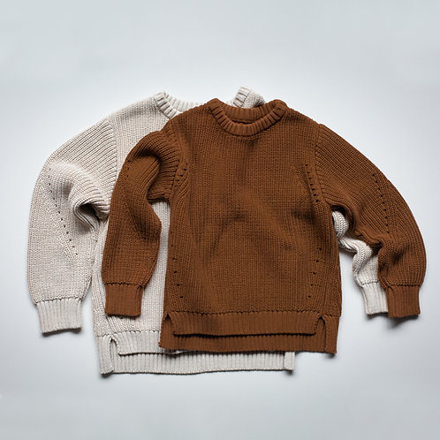 The Simple Folk – The Essential Sweater Oatmeal