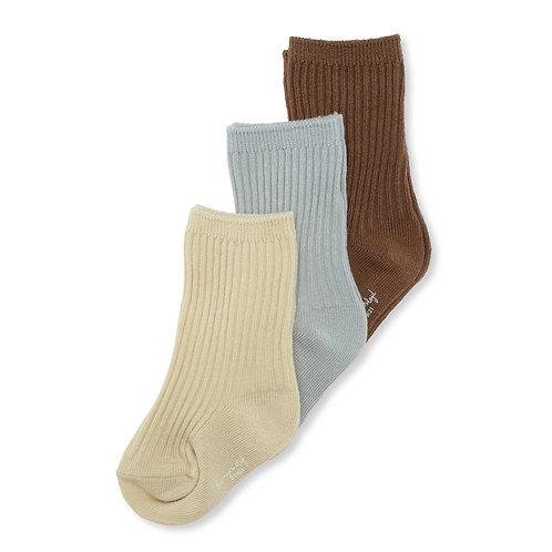 Konges Sløjd - 3er Pack Rib Socks