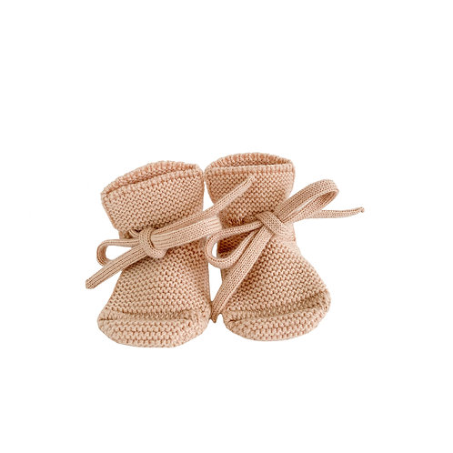 hvid - Booties apricot