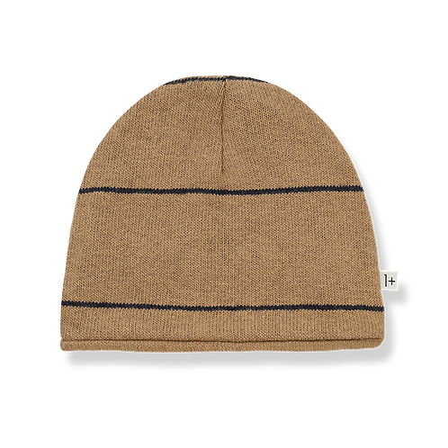 1+ in the family - Roy reversible beanie brandy