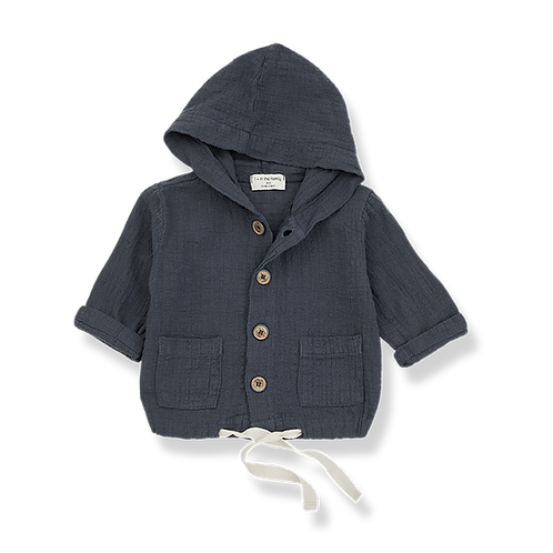 1+ in the family - yago hood jacket anthracite