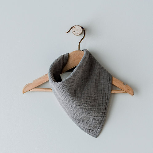 The Simple Folk - The Muslin Bandana lead grey