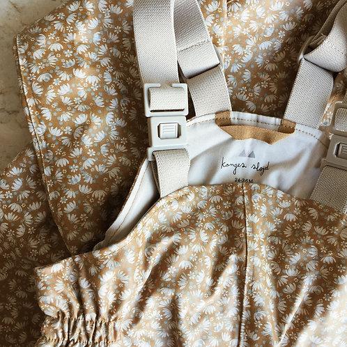 Konges Sløjd - Palme Rainwear Set Cotton Girl