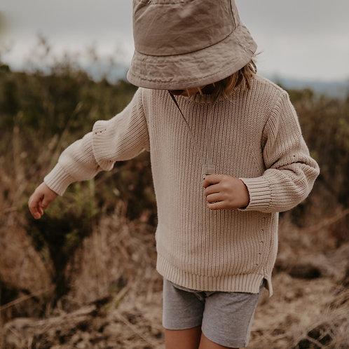 The Simple Folk - The Perfect Short grey melange