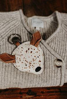 Donsje Amsterdam - Schlüsselanhänger Bambi