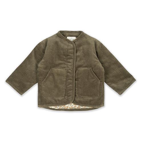 Konges Sløjd - Quilted Jacket Walnut