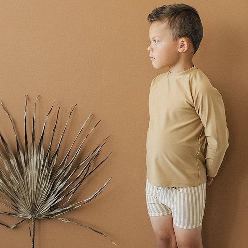 KidWild - Swim Trunks Stripe Honey