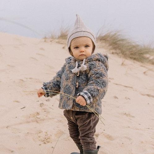 búho barcelona - Baby Soft Knit Hat natural