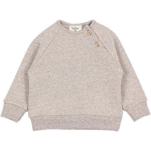 búho barcelona - Baby Soft Jersey Sweatshirt stone