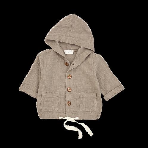 1+ in the family - yago hood jacket khaki