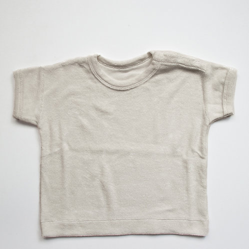 The Simple Folk - The Terry Boxy Tee Undyed