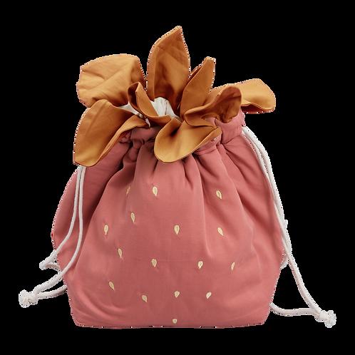 Fabelab - Aufbewahrungsbeutel Erdbeere