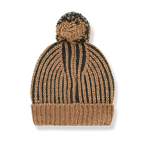 1+ in the family - Homer Beanie charcoal
