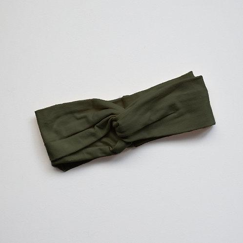 The Simple Folk - The Twist Headband olive