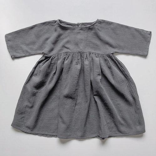 The Simple Folk - The Muslin Dress lead grey