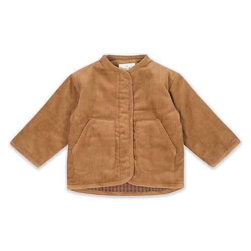 Konges Sløjd - Quilted Jacket Faded Brown