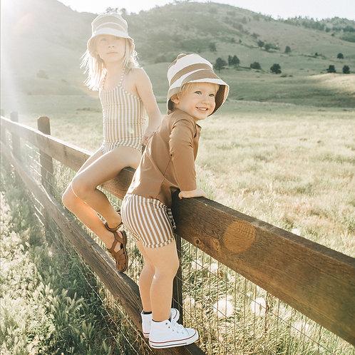 KidWild - Organic Bucket Hat Brick