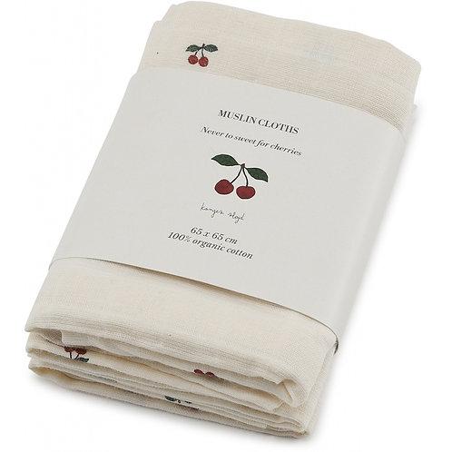 Konges Sløjd - Muslin Cloth Cherry