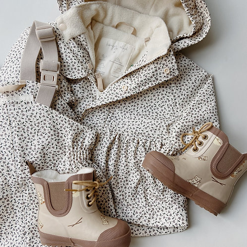 Konges Sløjd - Palme Rainwear Set Solid Fleece Milk Tank
