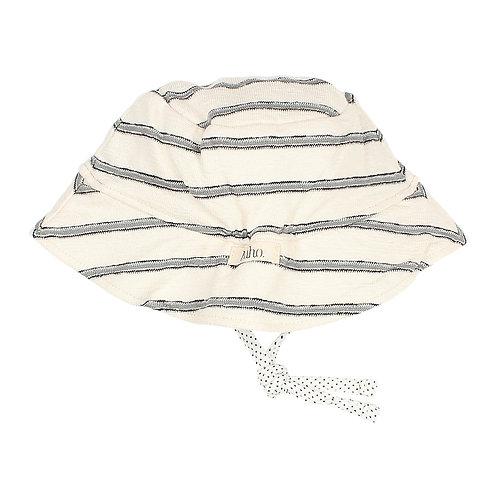 búho barcelona - Baby Stripes Navy Hat Cloud