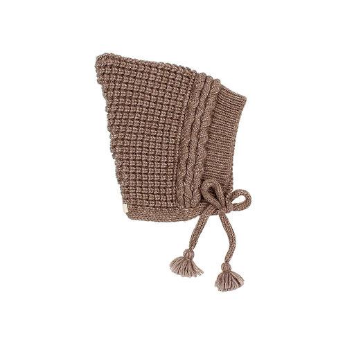 búho barcelona - Baby Soft Knit Hat wood