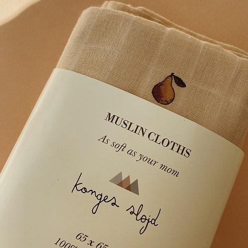 Konges Sløjd - Muslin Cloth Poire