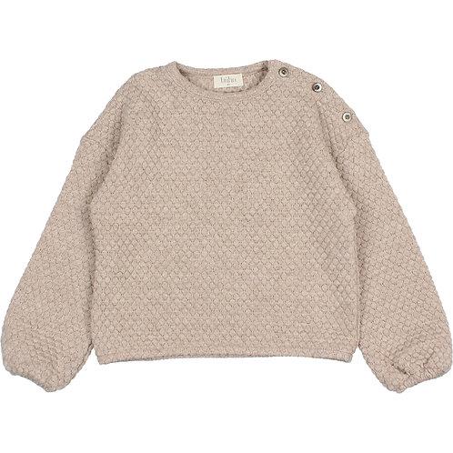 búho barcelona - Kids Soft Jacquard Sweatshirt natural