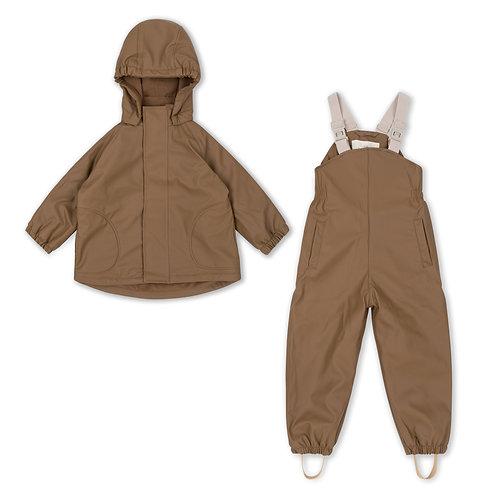 Konges Sløjd - Palme Rainwear Set Solid Fleece