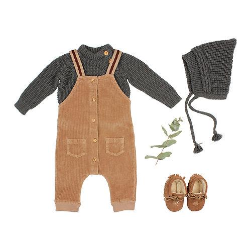 búho barcelona - Rice Knit Jumper antracite
