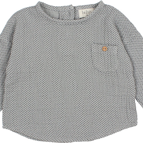 búho barcelona - Mini Dots Shirt Cloud