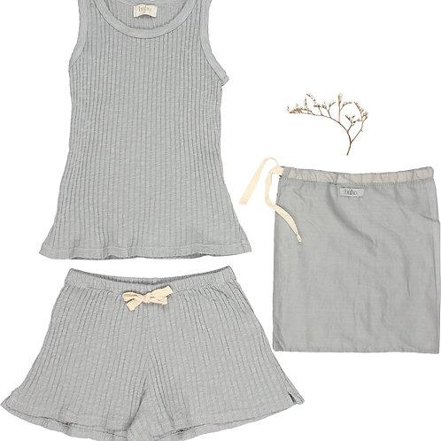 búho barcelona - Summer Pyjama Set Cloud