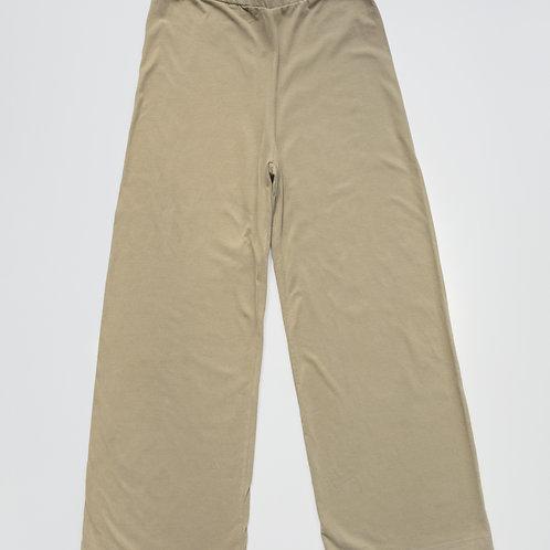 Women's Loungewear The Simple Folk – The Wide Leg Trousers Sand