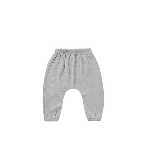 Quincy Mae - Woven Harem Pant Periwinkle