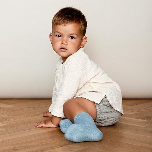 GoBabyGo - Rutschfeste Socken Dusty Blue