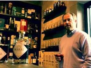 Maral: le seul véritable Sloe Gin belge. Et franchement, il défonce! Made Gin Belgium