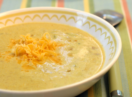 Curried Corn and Pepper Chowder
