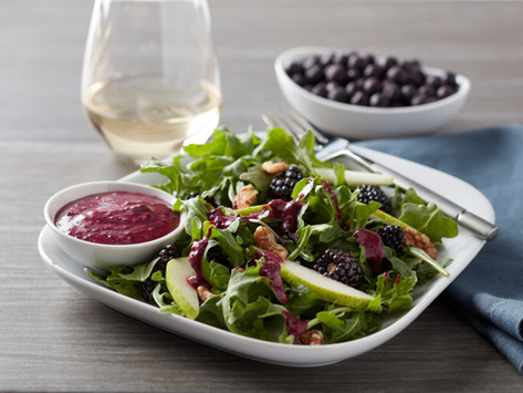 Berry Smooth Salad Dressing
